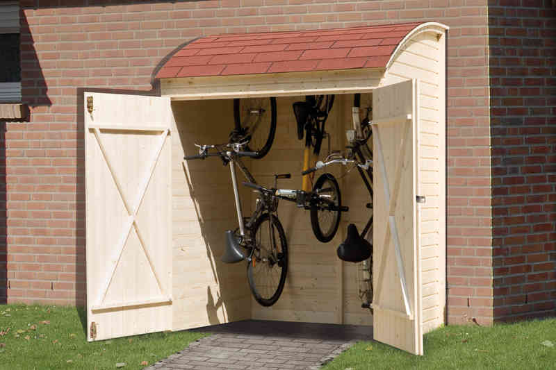 weka fahrradgarage mehrzweckbox 160x134cm zantaro online shop. Black Bedroom Furniture Sets. Home Design Ideas